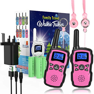 £43.63 • Buy Wishouse Kids Walkie Talkies Long Distance Rechargeable With Charger Battery, 4
