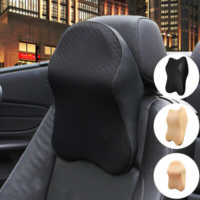 £13.99 • Buy Car Seat Headrest Pad Memory Foam Pillow Head Neck Rest Back Support Cushion PS