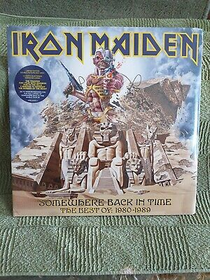£20 • Buy Iron Maiden - Somewhere Back In Time - 2lp Picture Disc - 2008 - Sealed !!