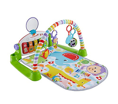 £58.61 • Buy Fisher-Price Kick And Play Piano Gym, New-Born Baby Play Mat With Activity Music