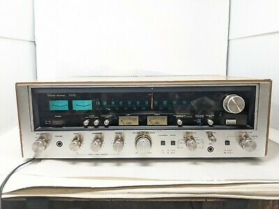 £255.94 • Buy Vintage Silver Sansui 7070 Receiver, Walnut - Tested & In Beautiful Condition!!