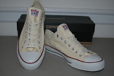 $37.99 • Buy New CONVERSE ALL STAR - Mens 13 Natural White Sneakers Shoes Chuck Taylor Low