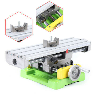 $81 • Buy Milling Machine Compound Work Table Support Worktable Cross Slide Bench Drill US