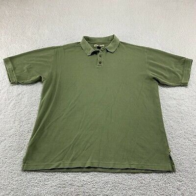 $19.95 • Buy Tommy Bahama Silk Shirt XL Olive Green Mens Solid Short Sleeve Button Up Casual