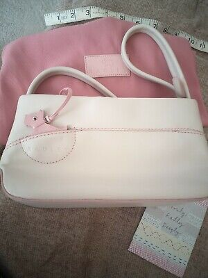 $ CDN17.42 • Buy Radley Handbags Small Brand New Cream And Pink With Protector 8-10 Inches