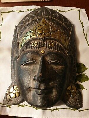 £20 • Buy Collectable Striking Ethnic Wooden Mask