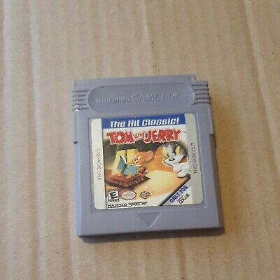 £13.99 • Buy Tom & And Jerry Nintendo Gameboy Original Game Official Uk *cart* Tested Working