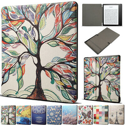 AU12.69 • Buy For Amazon Kindle Oasis 2 2017 2019 9/10th Gen E-reader Smart Leather Case Cover