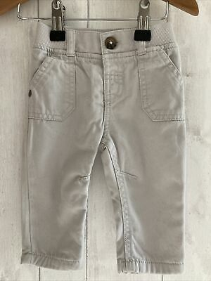 £4.99 • Buy FREE POST SALE !! Stone Colour Chino Trousers Baby Boys Clothing 0-3 Months