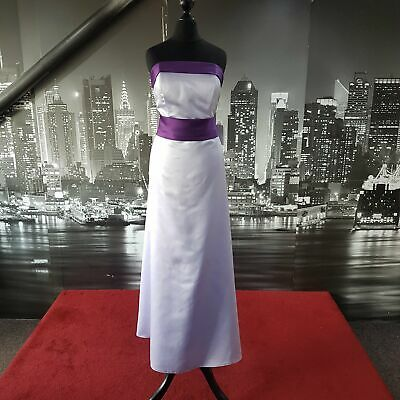£19.99 • Buy Stunning Gown (Purple-Lilac-Size 16) Wedding, Prom, Ball, Formal Event