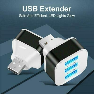 AU2.27 • Buy 3Ports Expander Charger USB 3.0 Hub Splitter Adapter Laptop AU For PC W5G9