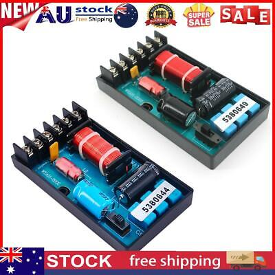 AU18 • Buy 120W Speaker Frequency Divider 2 Way Cars Audio Speakers Crossover Filter