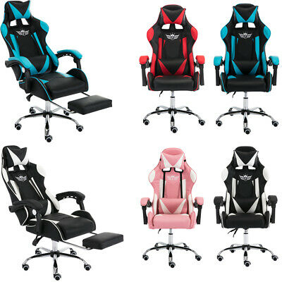 £89.90 • Buy Executive Racing Gaming Computer Office Chair Adjustable Swivel Recliner