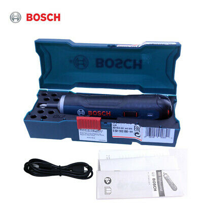 View Details Bosch Go 3.6V Smart Cordless Screwdriver Kit Electric Screw Tool Top USB Cable • 30.99£