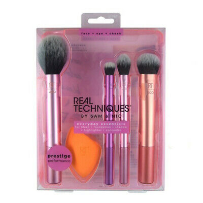 AU18 • Buy New Real Techniques Makeup Brushes Set Foundation Blender Smooth Sponges Puff AU