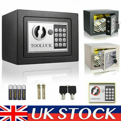 £21.89 • Buy Electronic Passwor Security Safe Box Small Value Home Safe High Security Steel