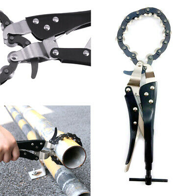 £24.98 • Buy Exhaust Pipe Cutter Multi Wheel Chain Lock-grip Pliers Tube Wrench Tool 80mm