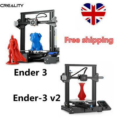 £149.99 • Buy Used Creality Office Ender-3 V2 3D Printer MeanWell Power Silent Motherboard UK