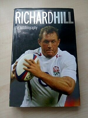 £7.40 • Buy Richard Hill The Autobiography England Rugby  Hardback Book
