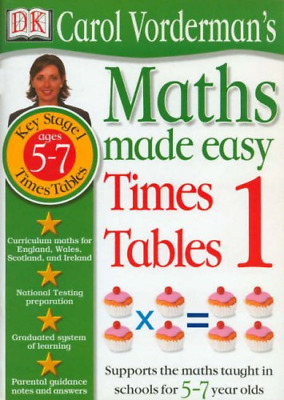 £1.79 • Buy Maths Made Easy: Age 5-7 Times Tables, Vorderman, Carol, Good Condition Book, IS