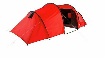 £139.99 • Buy ProAction 6 Man 3 Room Tunnel Camping Tent - Red