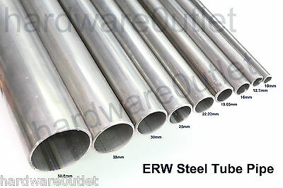 £3.85 • Buy X ERW Mild Steel ROUND TUBE Pipe Ø  Sizes & Lengths Available To Bespoke Sizes