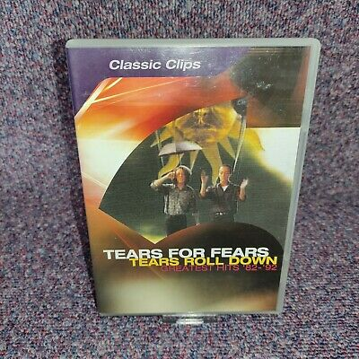 £6.49 • Buy Tears For Fears Tears Roll Down DVD Greatest Hits 1982 - 1992 VGC - Free P&P