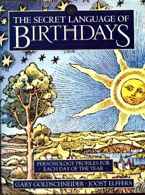 £8.42 • Buy THE SECRET LANGUAGE OF BIRTHDAYS By , Good Used Book (Unknown Binding) FREE & FA