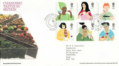 £1.64 • Buy (88751) GB FDC Changing Tastes In Britain Cookstown 2005