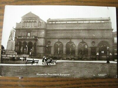 £3.50 • Buy Museum, Peel Park, Salford, Lancashire (RP) - Posted 1915