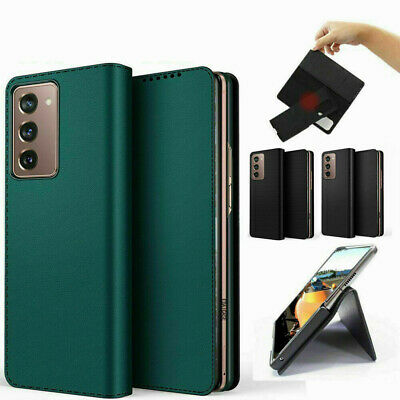 AU29.97 • Buy For Samsung Galaxy Z Fold3 5G PU Leather Removable Card Slot Wallet Case Cover