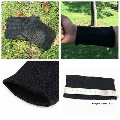£5.89 • Buy Outdoor Working Safety Anti-Cut Protective Arm Sleeves For Butcher Builder 20cm