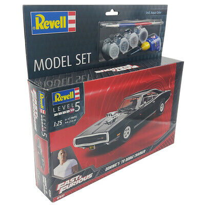 £34.99 • Buy Revell Fast & Furious Dominic's 1970 Dodge Charger Car Model Kit 67693 1/25