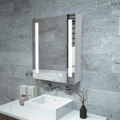 £134.99 • Buy Anti-fog Bathroom LED Mirror Cabinet With Touch Sensor Switch And Shaver Socket.