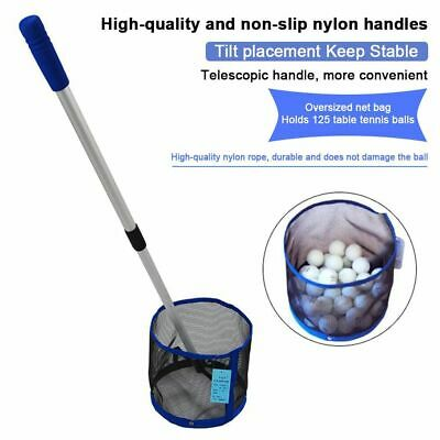 AU39.32 • Buy Table Tennis Ball Picker 2 Section Aluminum Pole Table Tennis Picking Net