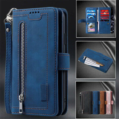 AU17.59 • Buy For Samsung S21 S20 FE Ultra S10 S9 8 Plus Case Leather Wallet 9 Card Flip Cover