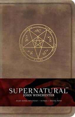 £17.58 • Buy Supernatural: John Winchester, Ruled Journal Insight Editions
