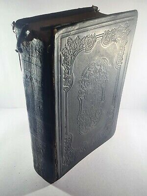 £200 • Buy The Holy Bible Old & New Testaments Appointed For Churches 1853 Antique Book