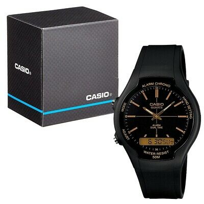 £23.99 • Buy Casio Collection Analogue And Digital LCD Watch With Chrono Etc. AW-90H-9EVEF