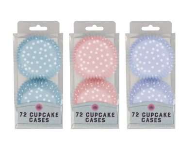 £3.49 • Buy Pack Of 72 - Paper Cupcake Cases - Baking Muffin Cooking Wrapper Liner