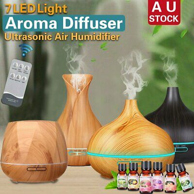 AU25.99 • Buy Essential Oil LED Ultrasonic Aroma Aromatherapy Diffuser Air Humidifier Purifier