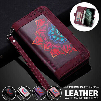 AU14.99 • Buy For IPhone 12 Mini 11 Pro Max XR XS 7/8/SE Plus Case Wallet Leather Card Cover