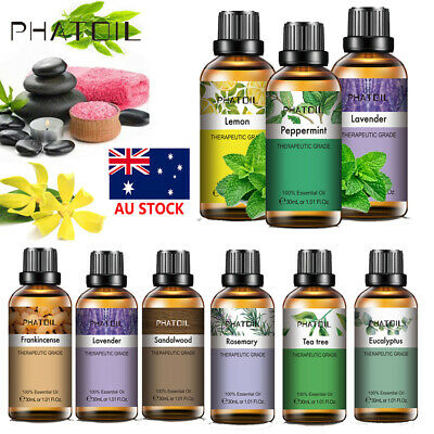 AU9.99 • Buy 100% Pure Essential Oil Gift Set 30ML Diffuser Fragrances Oil For Aromatherapy