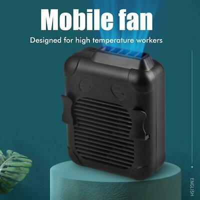AU24.99 • Buy Waist‑Mounted Pocket USB Mini Cooling Fan Portable Rechargeable Air Outdoor AU