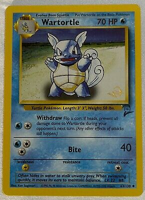 $72.43 • Buy Wartortle 63/130 Pokemon Card Wizard Gold W Stamp Promo Excellent/Nm WOTC Tcg.