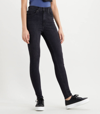 £44.99 • Buy Levi's Womens Mile High Super Skinny Jeans - Faded Ink Charcole - Washed Black