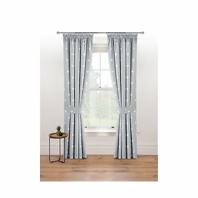 £40.32 • Buy Grey Disney Mickey Mouse Blackout Curtains