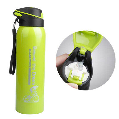 AU12.99 • Buy 0.5L Water Flask Thermos Stainless Steel Vacuum Insulated Dual Wall Drink Bottle