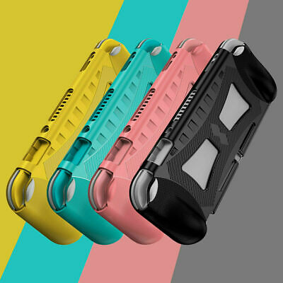 AU13.97 • Buy For Nintendo Switch Lite Console Silicone Grip Bumper Protective Case Cover Skin