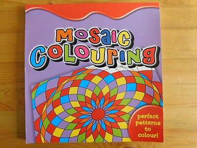 £3.39 • Buy Mosaic Colouring, The Perfect Pattern To Colour, Paperback, Unused